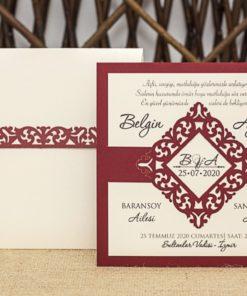 Wedding Davetiye 8336#1