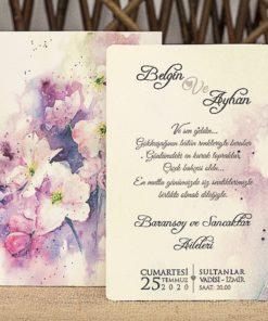 Wedding Davetiye 8344#1