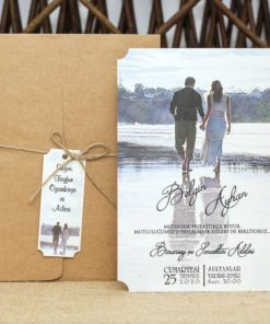 Wedding Davetiye 8370#1