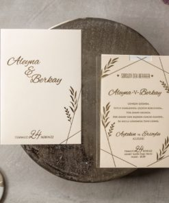 Wedding Davetiye 8401#1