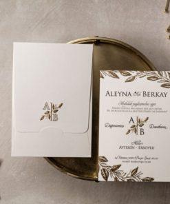 Wedding Davetiye 8408#1