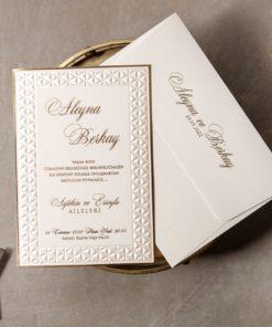 Wedding Davetiye 8411#1